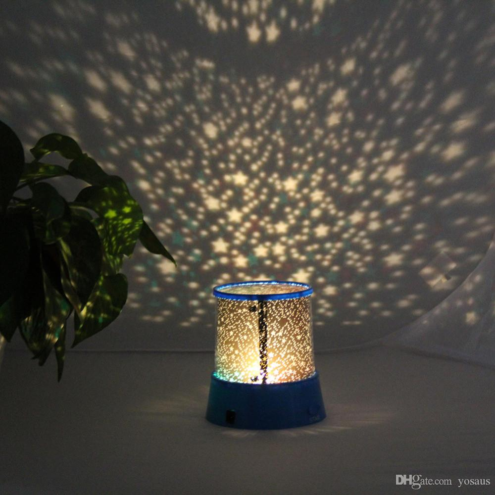 Star master projector lamp -  New Hot Colorful Star Sky Romantic Gift Cosmos Star Master Projector Led Starry Night Light Lamp
