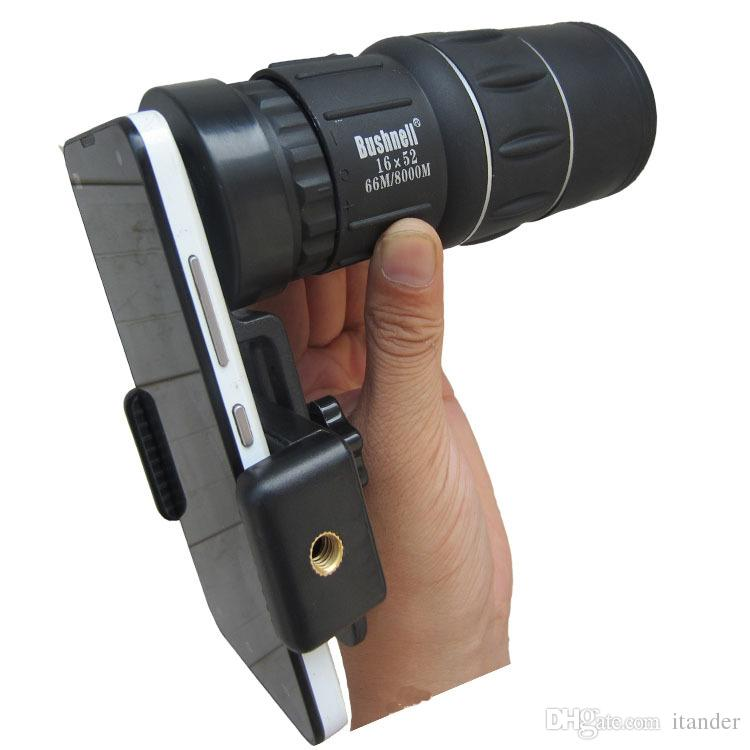 Lente da câmera do telefone celular zoom mobile monocular telescópio night vision scope para iphone fisheye adaptador de montagem universal dropshipping atacado