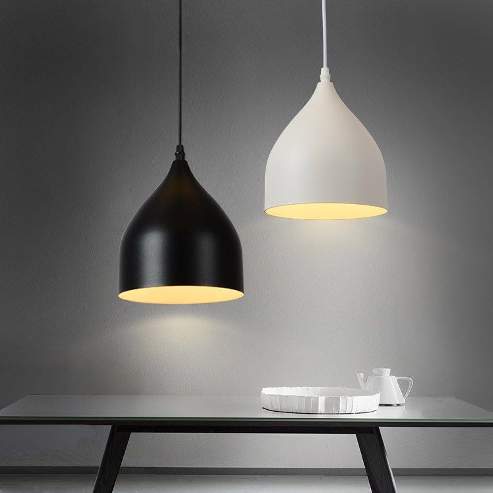 Moderne Salle À Manger Pendentif Lumières Couloir En Aluminium Peint Pendentif Lampe Simple Européenne Chambre Pendentif Lumières Luminaire