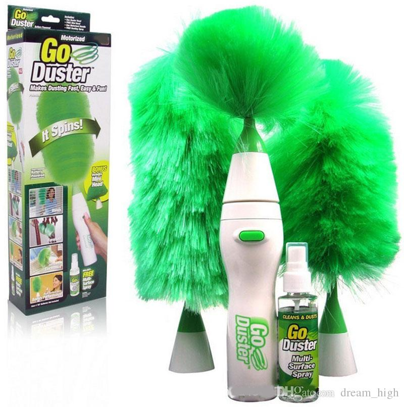 2017 Electric Feather Duster New Dust Cleaning Brush For Blinds