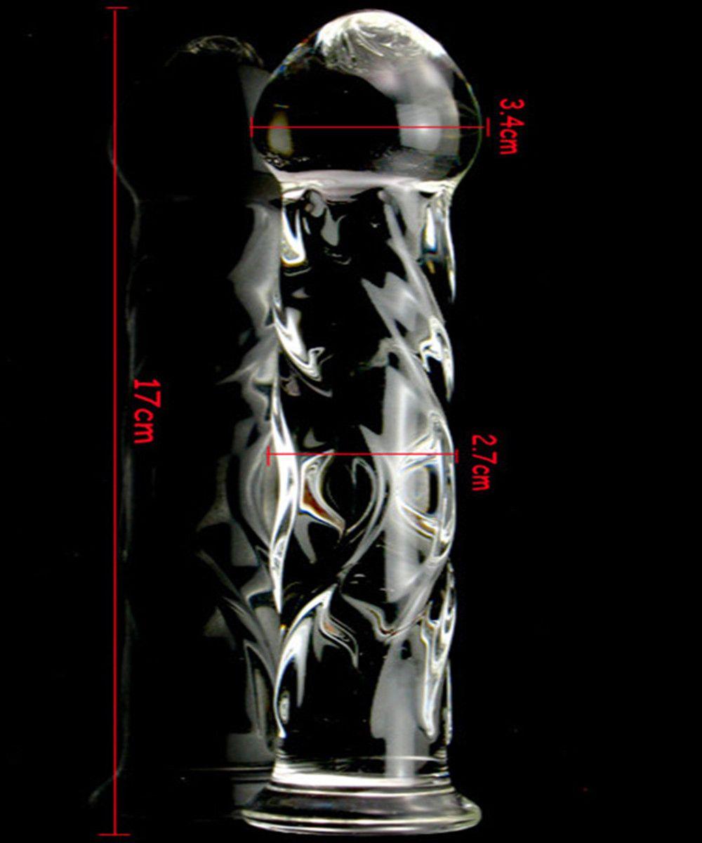 17 * 3.4 Donne Glass Glass Gay Perline Perline Pleasure e Anus Erotico Anale, Plug Fetish Adult Butt Sex Prodotti per TOYS Dildos Men 17905 Qhhed