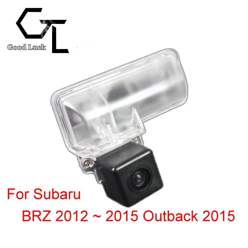 For Subaru BRZ 2012 ~ 2015 Outback 2015 Wireless Car Auto Reverse Backup CCD HD Night Vision Rear View Camera