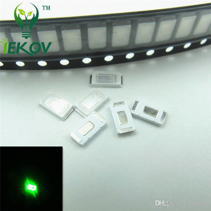High Quality 1000pcs 5630 5730 SMD/SMT Chip Green LED 515-520NM Ultra Bright Light Emitting diode Suitable for Car and Toys DIY