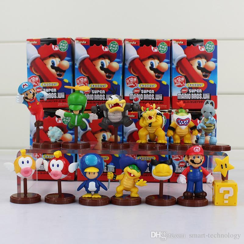 """Super Mario Bros Koopa Bowser 3.5/"""" PVC Figurine Jouet Poupée Enfants Cadeau FR/_"""