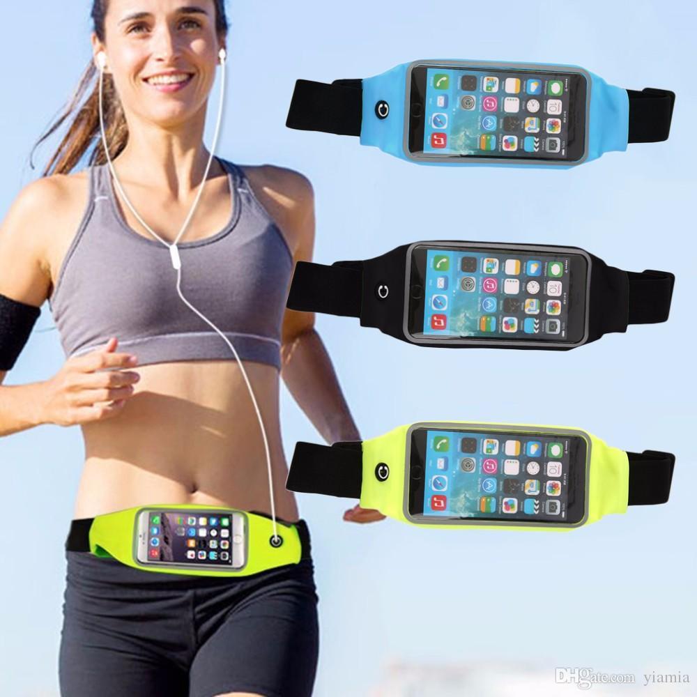 """Correndo Sacos de 5.5 """"Esporte Ginásio em execução Saco Da Cintura Bolsa Wallet Phone Case para Telefones Celulares Venda Quente"""