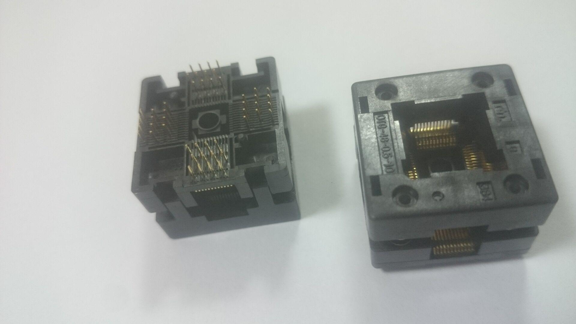 Enplas IC TEST SOCKET OTQ-48-0.5-10 QFP48PIN 0.5MM PITCH BURN IN SOCKET