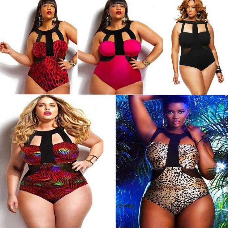 Bikini one piece print swimsuits bikinis plus size triangle swimwear swim suits bathing suits for women sexy plus fertilizer swimsuit