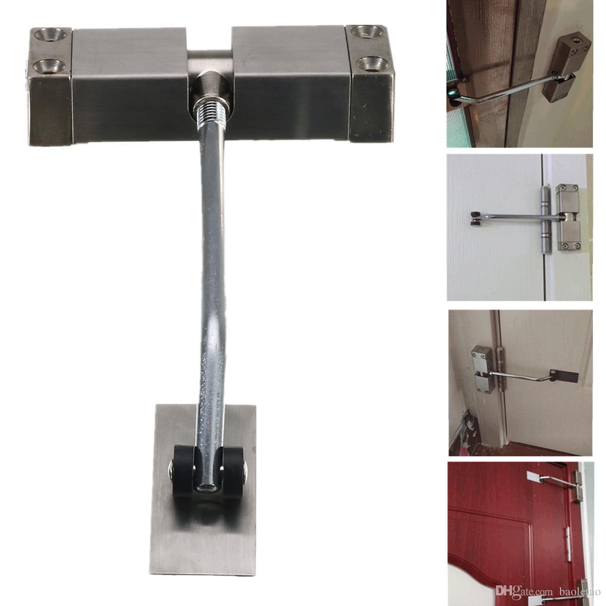 Charnière automatique de force de ferme-porte réglable de ressort pour le canal de porte évalué par feu