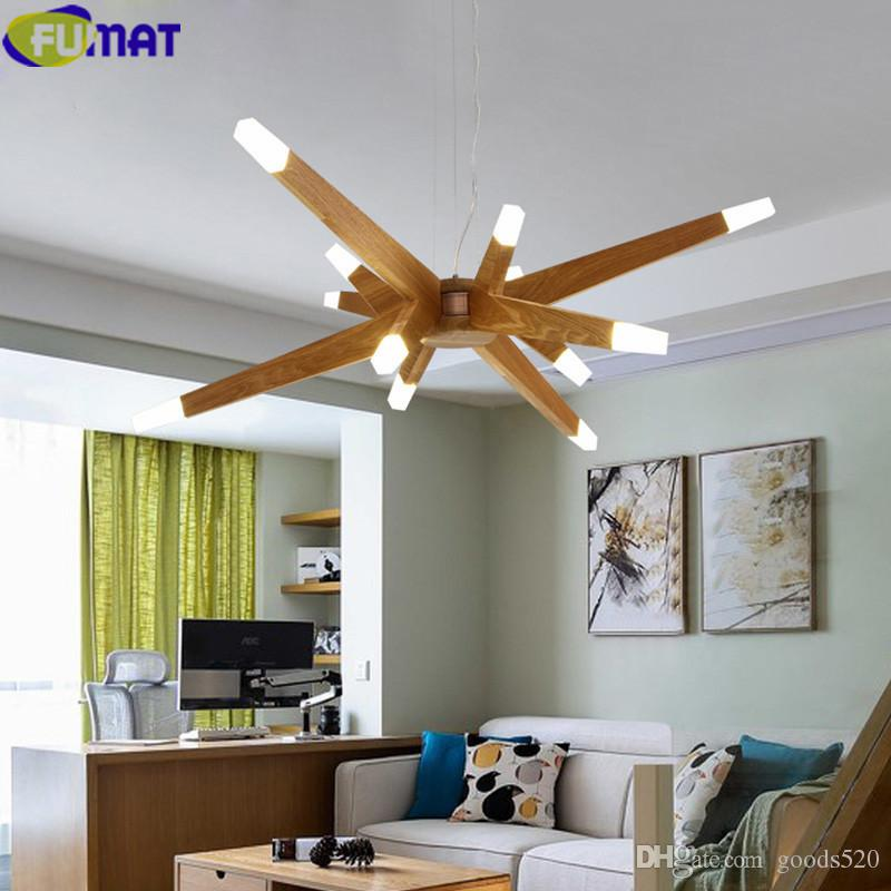 FUMAT Chandelier Wood Branch Chandelier Living Room G4 LED Lustres Modern  Chandeliers China Wood Branch Chandelier Lighting Chandelier Lamps Wrought  ...