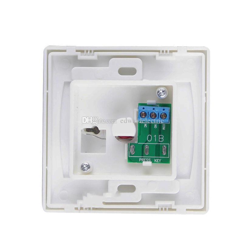 NO/NC ABS plastic shell Emergency button pc material Fire retardant Fire Switch alarm system Panic Button