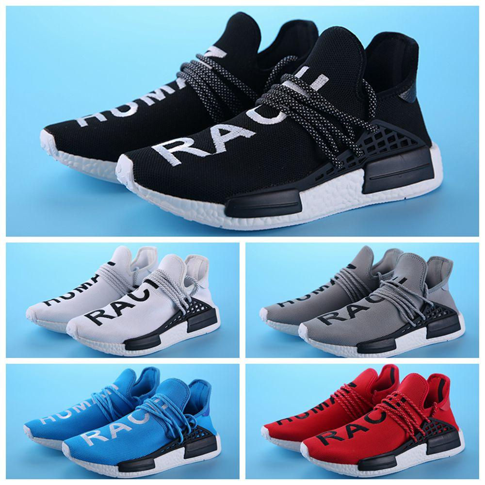 online store 5edd4 6d20a 2016 NMD New Humans Raced Shoes Men'S Sports Shoes Fashion NMDS Running  Sneakers For Men And Women Black US 36 45 Canada 2019 From Tzr168168, CAD  ...