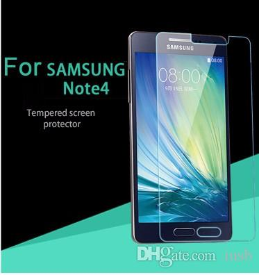 Good Quality 2.5D 9H Tempered Glass Screen Protector Explosion Proof Film For iphone 6S 6 5 Samsung Galaxy S7 S6 S5 S4 Note 5 4 3