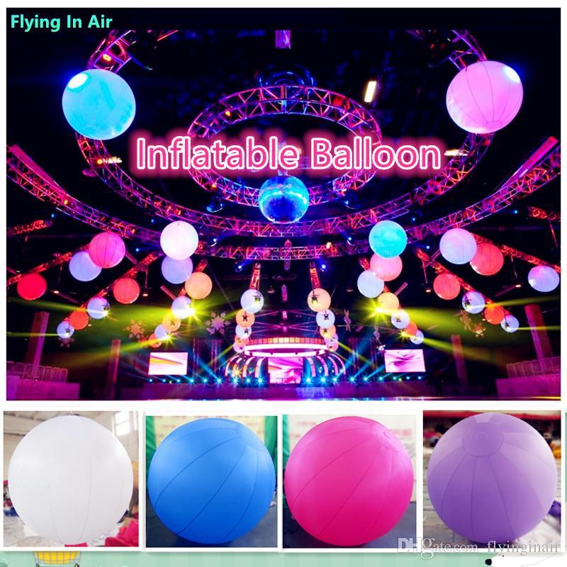 Ballon gonflable décoratif de 2 m d'inflation pour concert, événement et fête