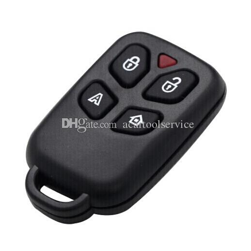 XQautopart 433.92mhz 4 button Car Alarm Remote Key for old Brazil Positron with HCS300 chip BX026A 2pc/lot