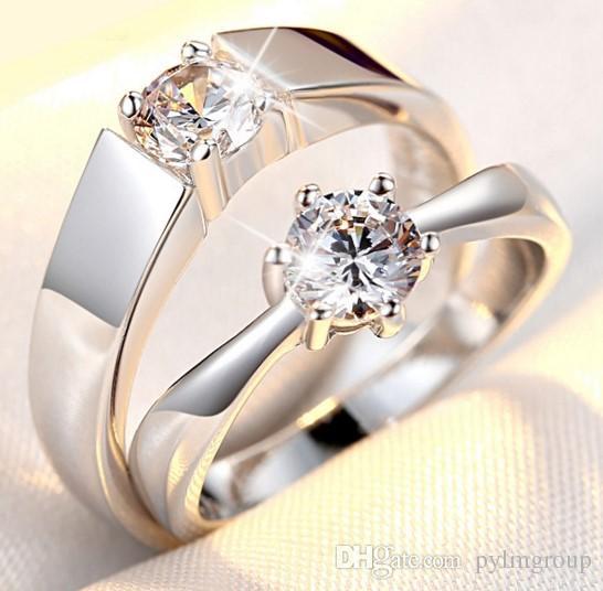 wedding ring S925 Pt Engagement 2017 Anniversary wholesale necklace torque Solitaire lady new arrive IT crastyle Dimond women Paris EUR US