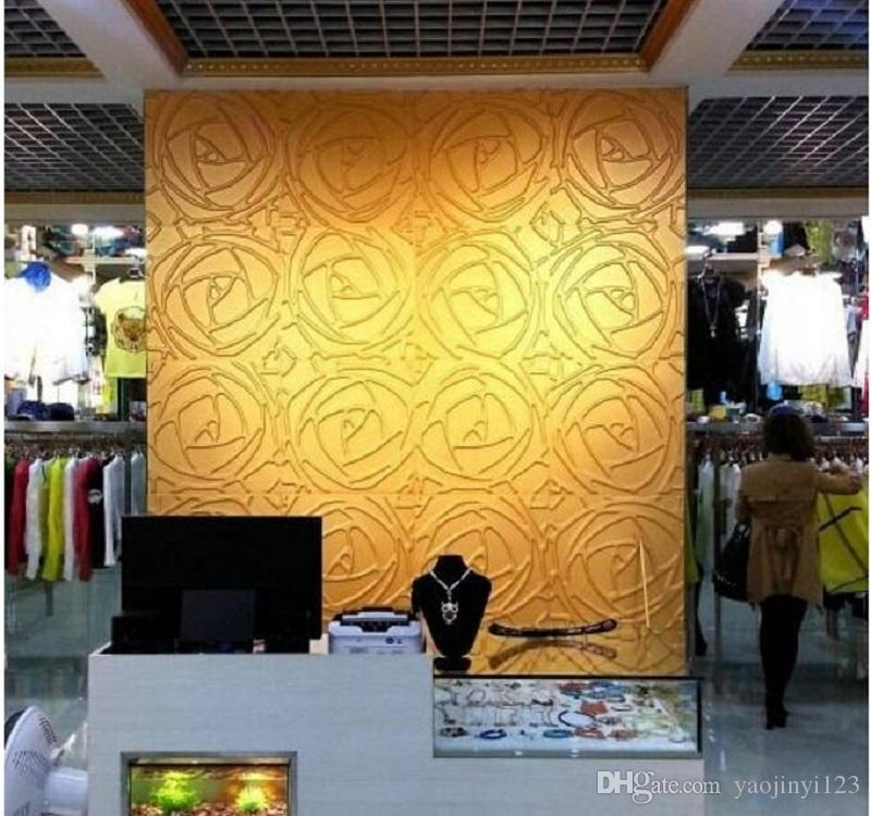 3d Wall Panels Househould Art Decorative Wall Panel Embossed Rose ...