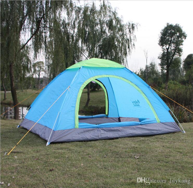 Tiendas de campaña al aire libre Senderismo refugios portátiles para acampar para 2 personas protección UV Tienda familiar Tiendas de campaña habitaciones