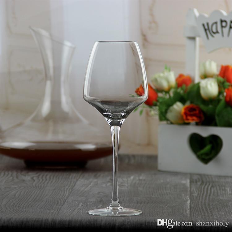Copo de vinho de cristal de alta final