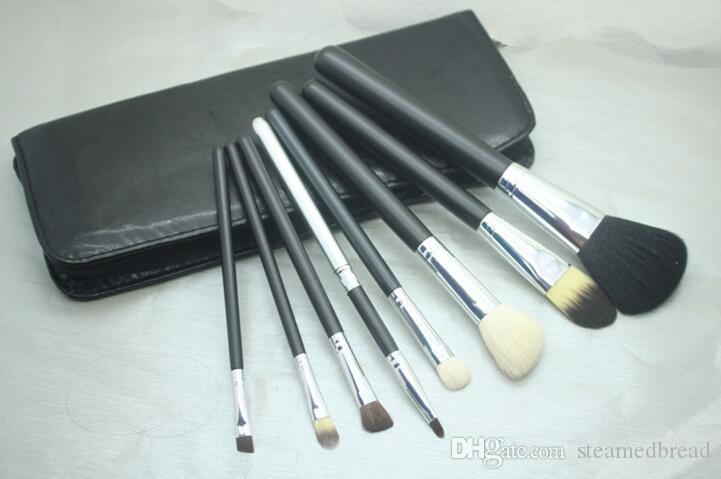 FREE SHIPPING hot sell NEW good quality Lowest Best-Selling good sale Makeup Brush 8 pcs Set + Pouch Professional Brush
