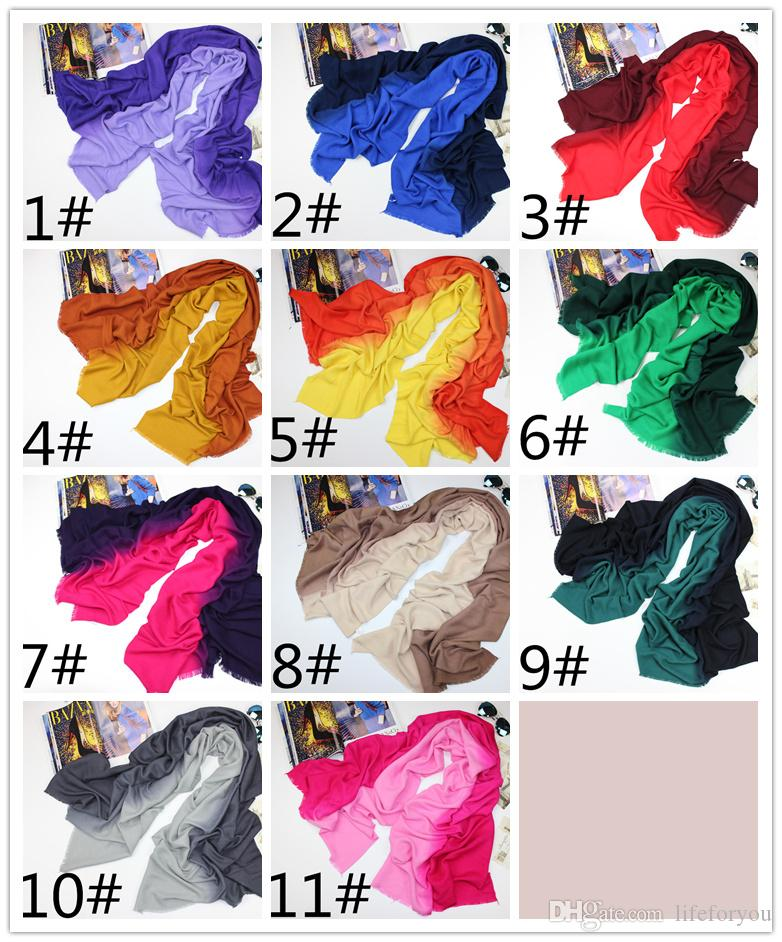 Top grade Ladies Women wool winter scarves fashion wraps soft scarf cashmere pashmina casual christmas accessories, 11 color to choose