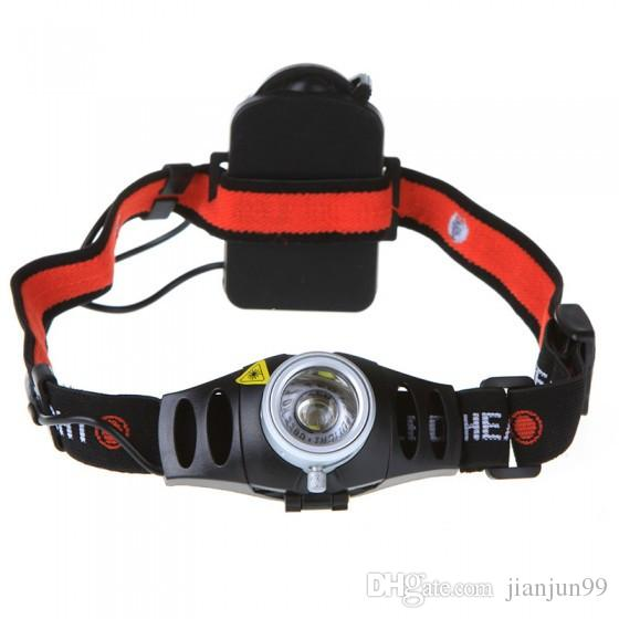 Ultra Bright 500lm CREE Q5 LED Headlamp Headlight Zoomable flashlight head light For Outdoor Hunting/Fishing Lamp
