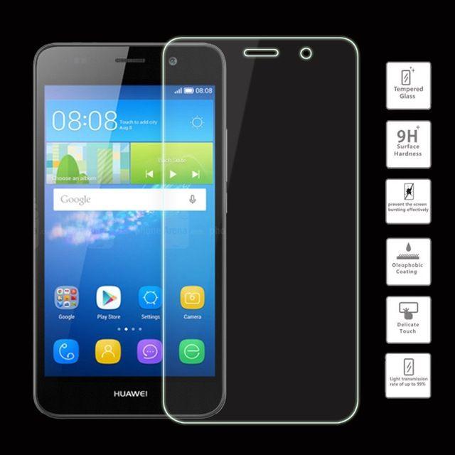 Pellicola protettiva in vetro temperato originale per Huawei Mate S 7 8 Pellicola protettiva HUAWEI Ascend P6 P7 P8 Lite P9 Plus con scatola di imballaggio