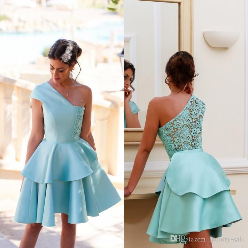 Short Mini Homecoming Dresses For Summer 8th Grade Dance Girls Back To  School Sweet Sixteen Graduation Teens Ball Prom Gowns BA2957 Lace Dresses