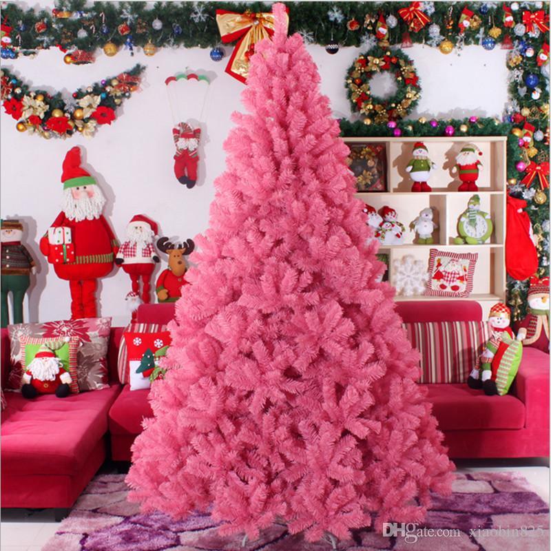 Weihnachtsbaum 3.0m / 300cm große rosa Weihnachtsbaum Weihnachtsgeschenke gehobene Hotels Einkaufszentren dekoriert Wohnzimmer