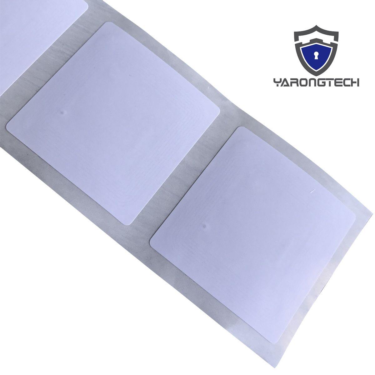 Etiquetas YARONGTECH ISO / IEC 15693 HF RFID Etiquetas de biblioteca de etiquetas de papel - NXP ICode SLIX (paquete de 20)