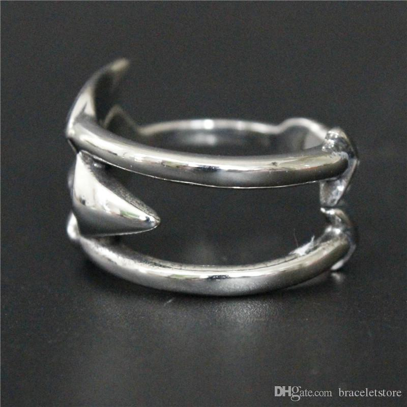 2pcs/lot Newest Design Cool Arrow Ring 316L Stainless Steel Fashion Jewelry Hot Selling Ring