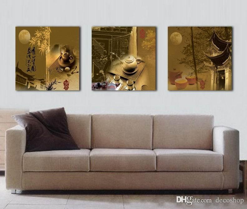 Feng Shui Mur Art Toile Hd Imprimer Décoratif Zen Image Chinois Thé Culture Épingle Ming Set30247