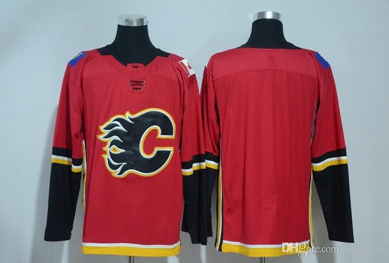 2020 New Calgary Flames Jersey Blank No Name No Number 2017 New Brand Hockey Jerseys Red Color Size 48 56 High Quality All Jerseys From Dhchina 23 51 Dhgate Com
