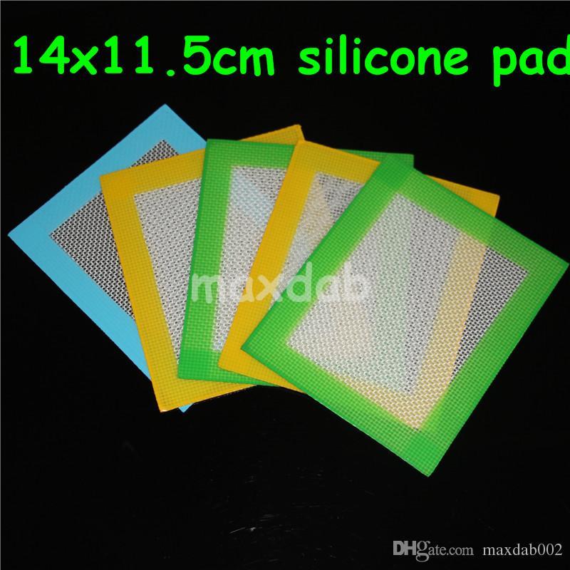 2016 Silicone antiaderente in silicone antiaderente in silicone antiaderente Dab Mat Dab Pad con fibra di vetro spedizione gratuita