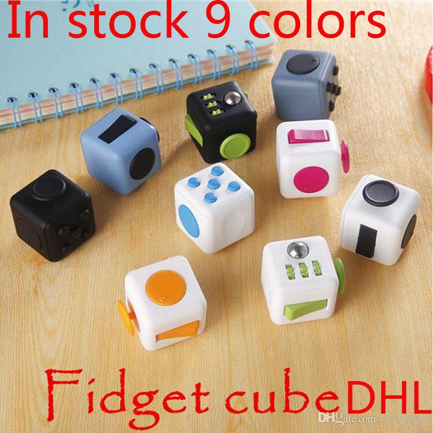 B.2.G.1.F UK Fidget Cube Stress Anxiety Relief ADD ADHD 2017 ACTUAL UK SELLER!