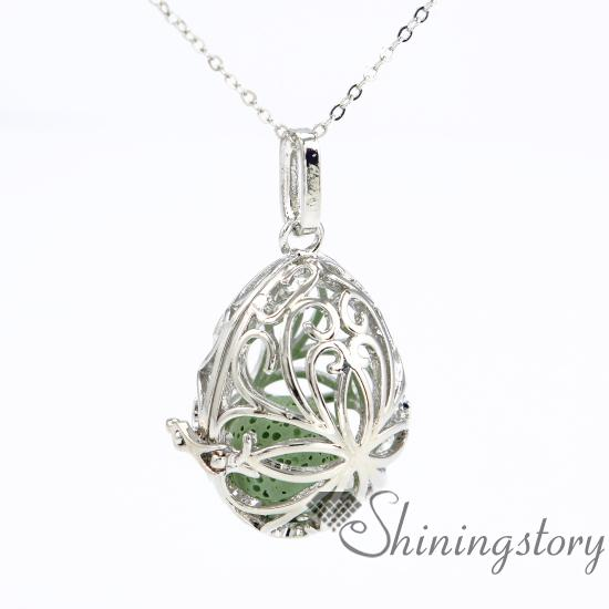 teardrop essential oil diffuser necklace aromatherapy jewelry wholesale diffuser jewelry aromatherapy necklaces metal volcanic stone perfume