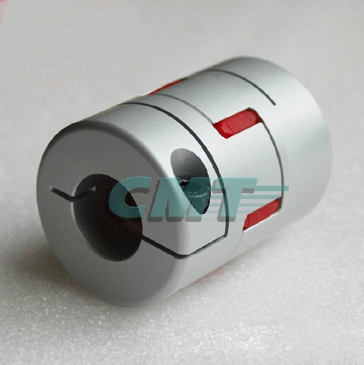 Novo sem lacre de fixação de ligas de alumínio tipo de ameixa acoplamento para servo e acoplamentos do motor de passo D = 65 L = 90mm D1 e D2 são de 15 a 35