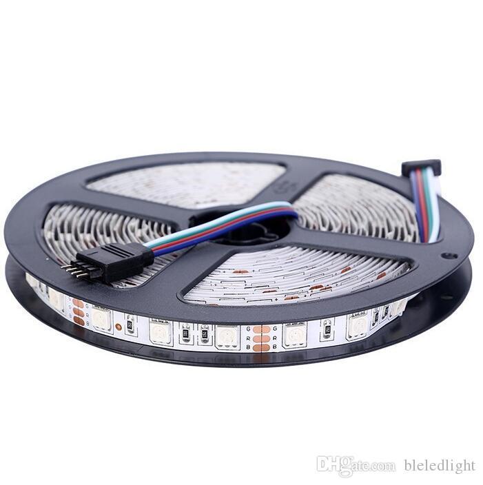 Striscia LED SMD 5m 300LED 5050, nastro LED 12V, bianco / bianco caldo / blu / verde / rosso / giallo / RGB, Non impermeabile Spedizione gratuita