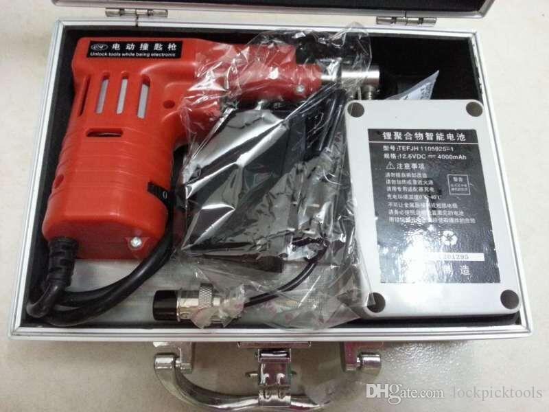 Spedizione gratuita da DHL New Dimple Lock Blocco elettronico Bump Pistola con 20 perni per blocco Kaba, strumenti di fabbro, taglierina, blocco