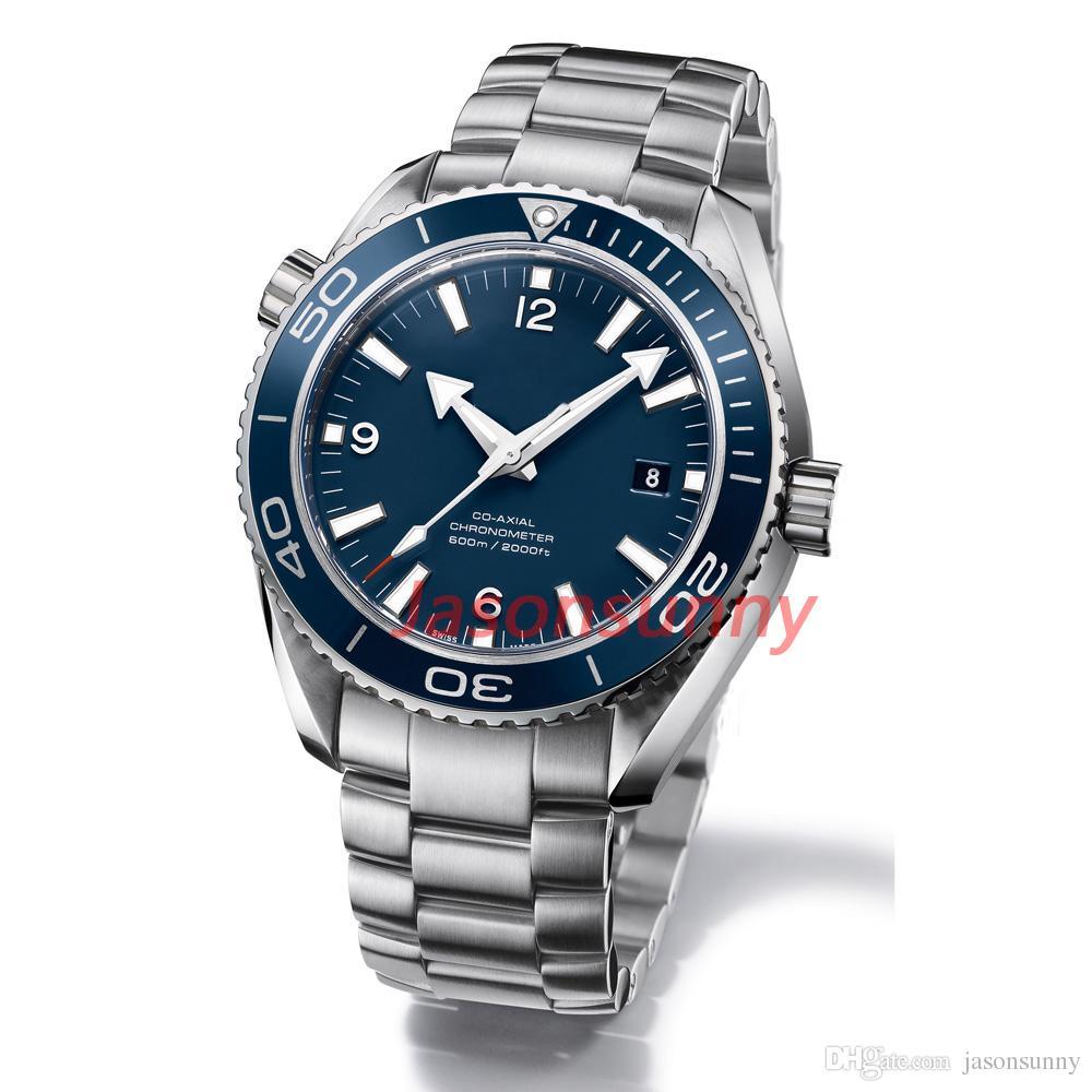 Luxury Fashion Mechanical Men's Stainless Steel Automatic Movement Watch Sports mens Self-wind Watches James Bond 007 Skyfall Wristwatch