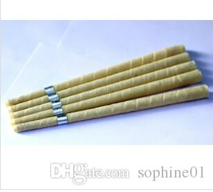 new hot pure beewax ear candle, unbleached organic muslin fabric,with protective disc+CE quality approval,1