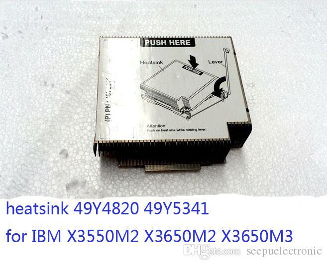 Dissipatore di calore 2pcs 49Y4820 49Y5341 per IBM X3550M2 X3650M2 X3650M3