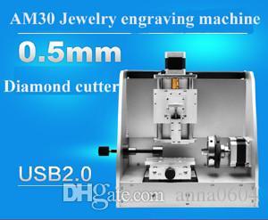 Anillo de joyería de alta precisión exterior e interior con láser egraving, máquina grabadora
