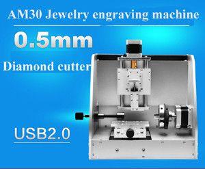 Bague de haute précision à l'extérieur et à l'intérieur de la gravure au laser, machine à graver