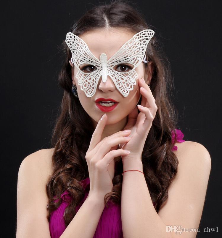 1PCS Eye Mask Women Sexy Lace Venetian Mask For Masquerade