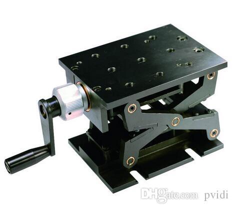 PT-SD1702M 정밀 수동 리프트, Z- 축 수동 랩 잭, 수직 이동 스테이지, 엘리베이터, 광학 슬라이딩 리프트, 38mm 이동