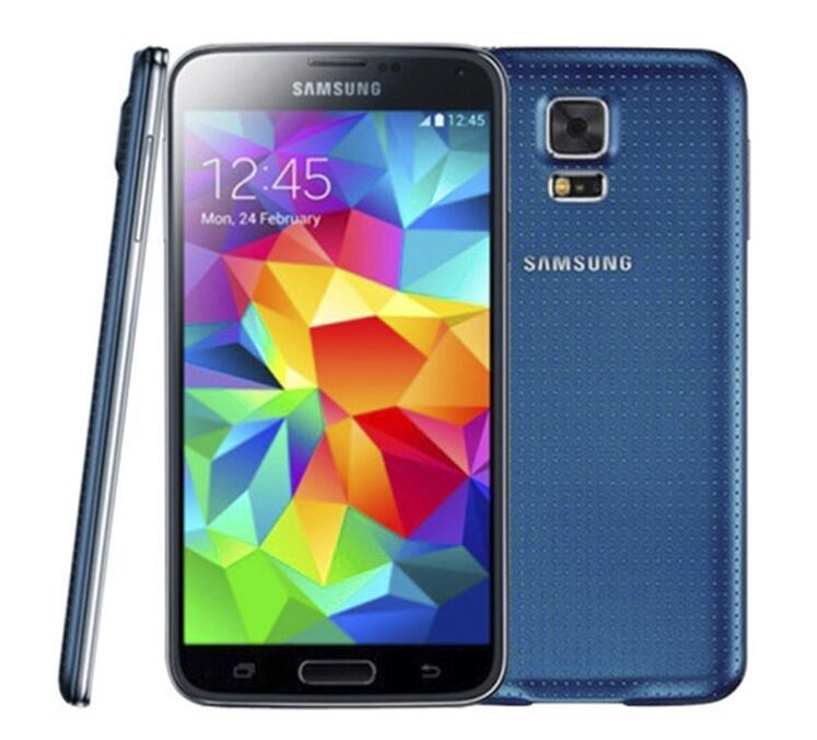 Original samsung galaxy s5 g900f g900p g900v g900a g900t com bateria Original Quad Core 2 GB / 16 GB 4G 3G Remodelado Desbloqueado telefone