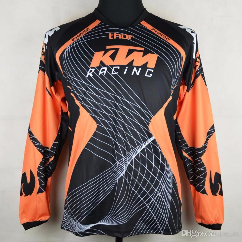 Brand-New KTM Motocross T-shirts Mountain Bike Bicycle Cycling Jersey Quick Dry Motorcycle perspiration wicking long sleeve T-shirts
