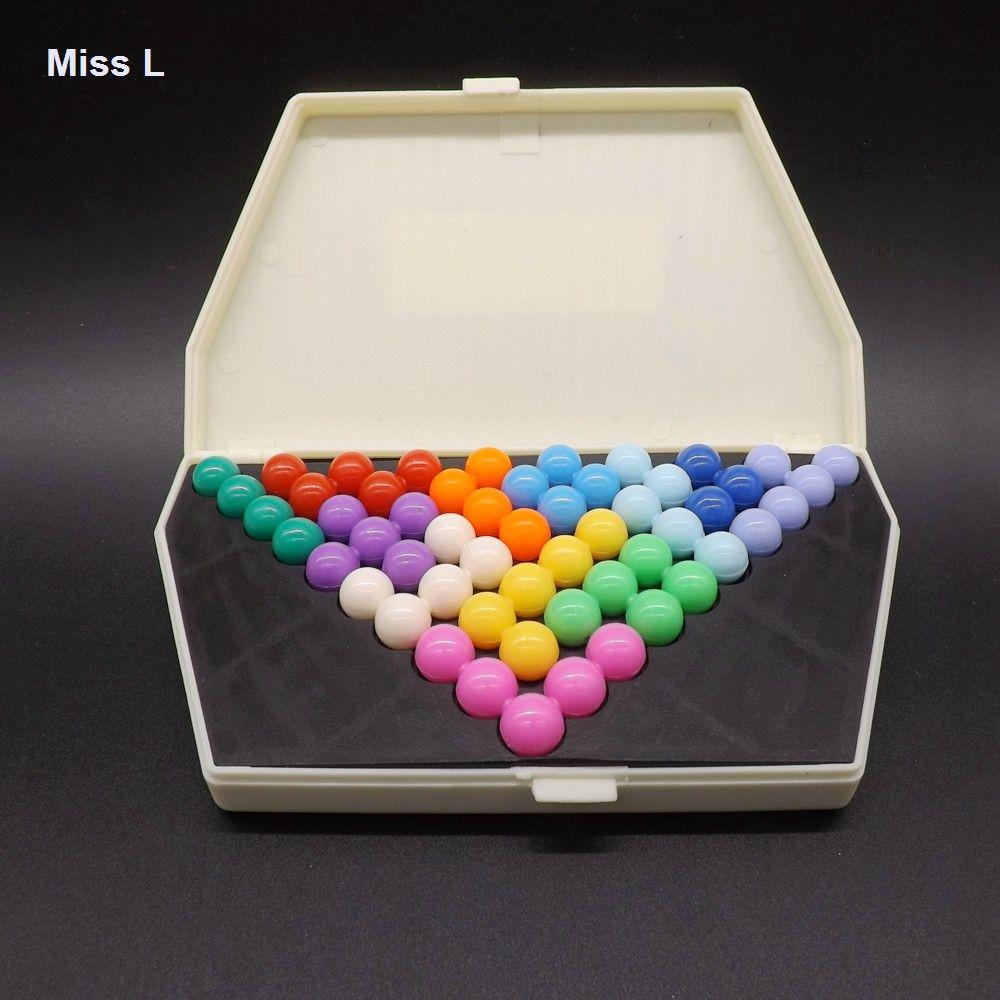 Casse-tête Drôle QI Puzzle Pyramide Sagesse Perle Enfants Intelligence Jouets Enfant Jeu Cadeau Enfant Enfant