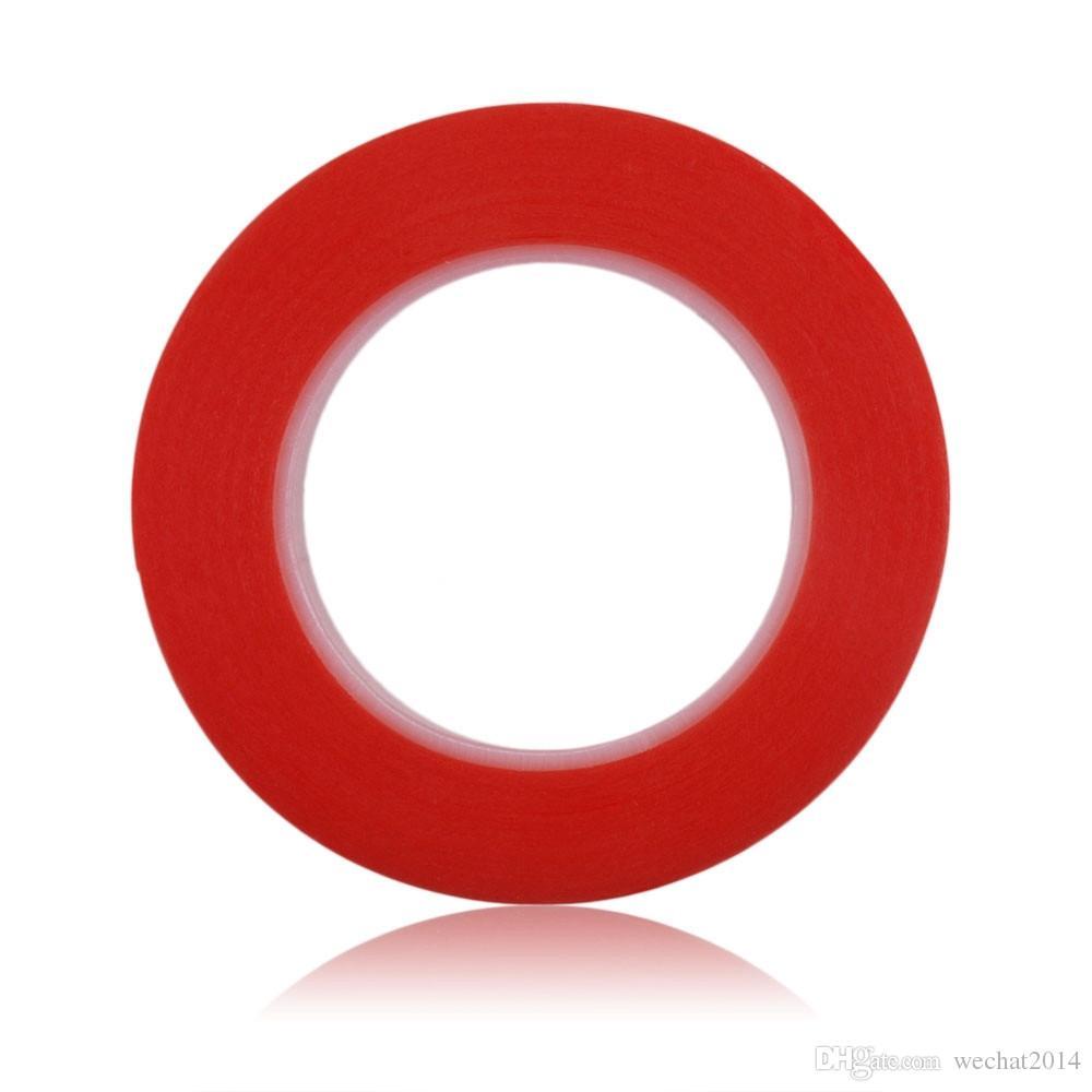 300PCS Couleur Rouge 2mm 3mm 5mm Ruban Adhésif Adhésif Double Face Fix pour Écran Tactile LCD