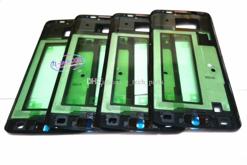Запасные части планшайбы Корпус Передняя рамка рамка для Samsung Galaxy S6 Гурт Plus G928 Оригинальный Мобильный для Samsung G920 S6 S6 края G925